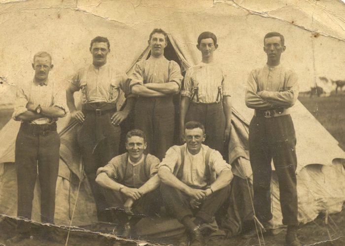 Herbert Cecil Algar (back centre)